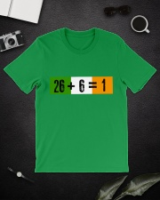 26 and 6 equal 1 Classic T-Shirt lifestyle-mens-crewneck-front-16