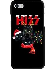 BLACK CAT CHRISTMAS Phone Case thumbnail