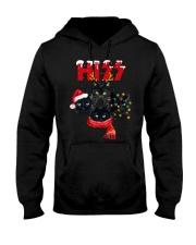 BLACK CAT CHRISTMAS Hooded Sweatshirt thumbnail