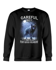 CAREFUL BOY Crewneck Sweatshirt thumbnail