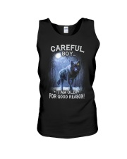 CAREFUL BOY Unisex Tank thumbnail