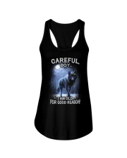 CAREFUL BOY Ladies Flowy Tank thumbnail