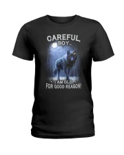 CAREFUL BOY Ladies T-Shirt thumbnail