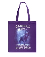 CAREFUL BOY Tote Bag thumbnail