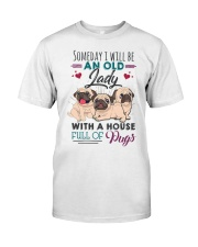 some day i will be pug Classic T-Shirt thumbnail