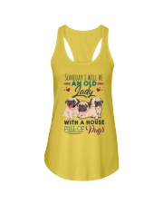 some day i will be pug Ladies Flowy Tank thumbnail