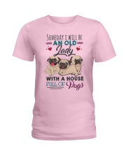 some day i will be pug Ladies T-Shirt thumbnail