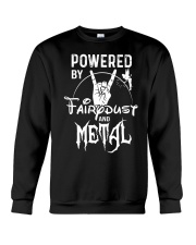 POWERED BY FAIRY DUST AND METAL Crewneck Sweatshirt thumbnail