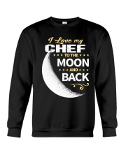 CHEF LOVE TO THE MOON BACK Crewneck Sweatshirt thumbnail