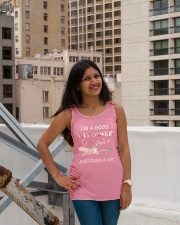 Limited Edition Ladies Flowy Tank lifestyle-bellaflowy-tank-front-3