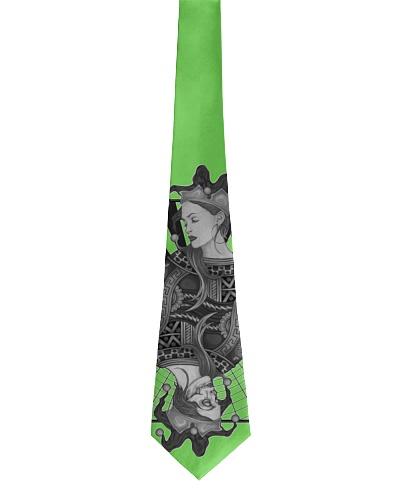 Jokerz Trix Card Black and White Tie