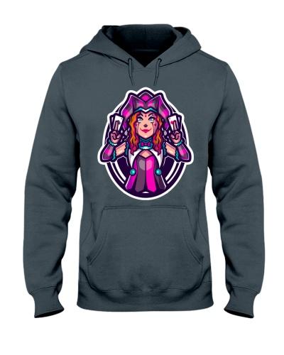Jokerz Trix Logo Hooded Sweatshirt