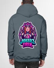 Jokerz Trix Logo Hooded Sweatshirt Hooded Sweatshirt garment-hooded-sweatshirt-back-01