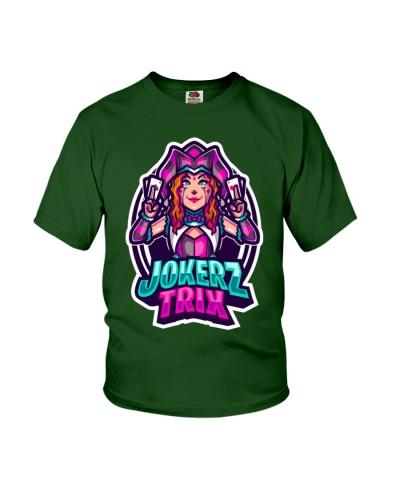 Jokerz Trix Logo Youth T-Shirt