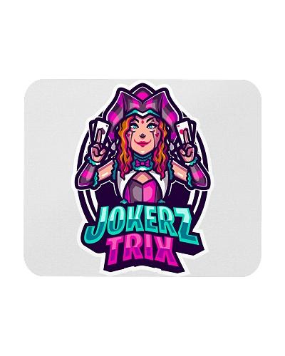 Jokerz Trix Logo Mousepad
