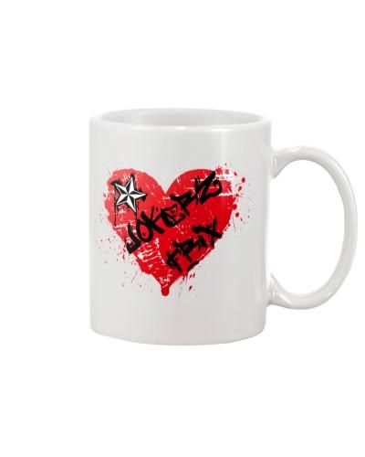 Jokerz Trix Heart Spray Mug