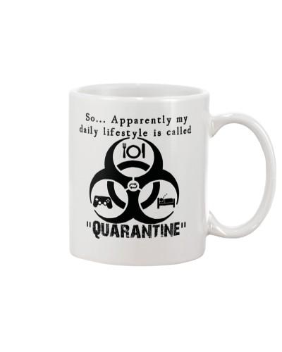 Daily Quarantine Lifestyle Mug