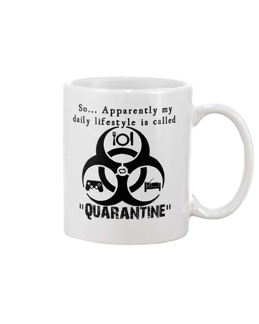 Daily Quarantine Lifestyle Mug  Mug