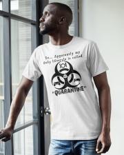 Daily Quarantine Lifestyle Classic T-Shirt Classic T-Shirt apparel-classic-tshirt-lifestyle-front-38