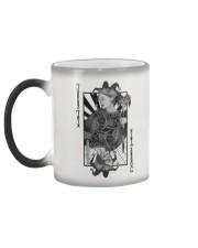 Jokerz Trix Card Black n White Color Changing Mug Color Changing Mug color-changing-left