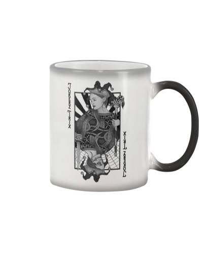 Jokerz Trix Card Black n White Color Changing Mug