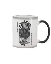 Jokerz Trix Card Black n White Color Changing Mug Color Changing Mug color-changing-right
