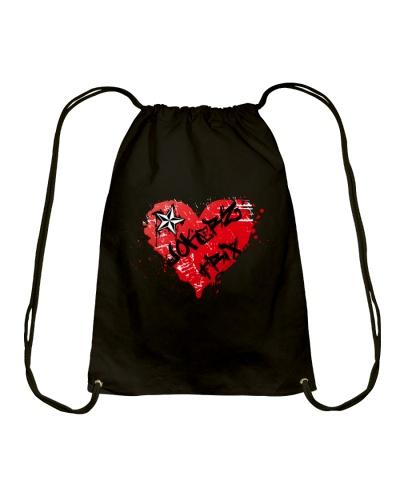 Jokerz Trix Heart Spray Drawstring Bag