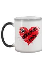 Jokerz Trix Heart Spray Color Changing Mug  Color Changing Mug color-changing-left