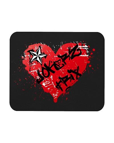 Jokerz Trix Heart Spray Mousepad