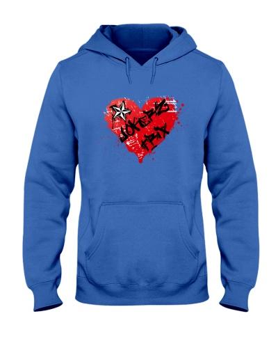 Jokerz Trix Heart Spray Hooded Sweatshirt