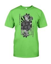 Jokerz Trix Card Black and White Classic T-Shirt  Classic T-Shirt front