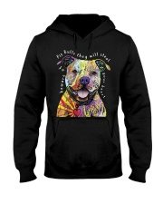 pit bulls they will steal your heart Hooded Sweatshirt thumbnail