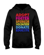 adopt foster sponsor volunteer  Hooded Sweatshirt thumbnail