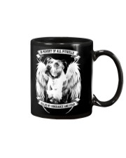 in memory of all pitbulls killed by ignorance and Mug thumbnail