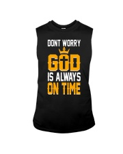dont worry god is always on time Sleeveless Tee thumbnail