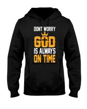 dont worry god is always on time Hooded Sweatshirt thumbnail
