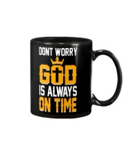 dont worry god is always on time Mug thumbnail