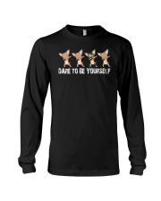 dare to be yourself Long Sleeve Tee thumbnail
