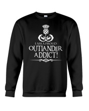 i am a pround outlander addict Crewneck Sweatshirt thumbnail