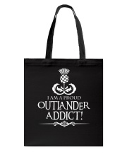i am a pround outlander addict Tote Bag thumbnail