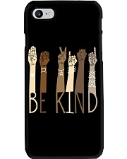 Be Kind SignLanguage Phone Case tile
