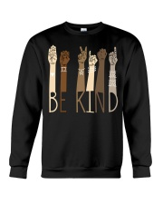 Be Kind SignLanguage Crewneck Sweatshirt thumbnail