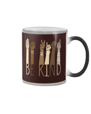 Be Kind SignLanguage Color Changing Mug thumbnail