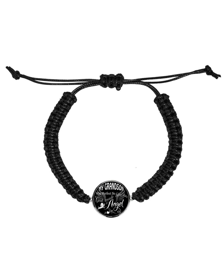 My Grandson Necklace Cord Circle Bracelet