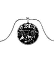My Grandson Necklace Metallic Circle Necklace thumbnail
