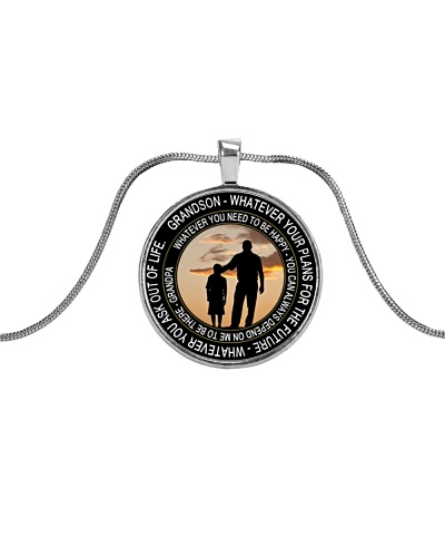 To My Grandson Necklace