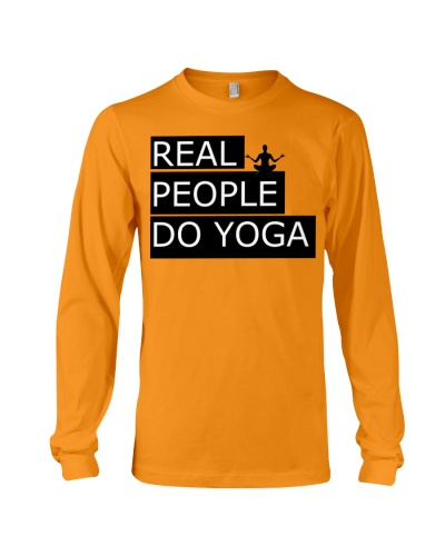 Real People Do Yoga