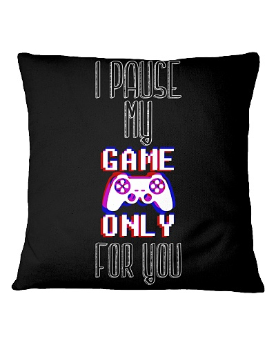 I pause my game only for you - original design app