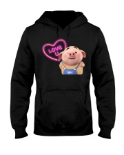 Pig cute Hooded Sweatshirt thumbnail