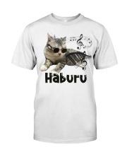 Haburu Meowssage Classic T-Shirt front